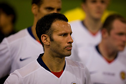 ROME, ITALY - Tuesday, May 26, 2009: Manchester United's Ryan Giggs looks dejected after his side lose 2-0 to Barcelona during the UEFA Champions League Final at the Stadio Olimpico. (Pic by Carlo Baroncini/Propaganda)