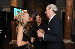 A party to promote the exclusive Puntacana Resort & Club - the Caribbean's Premier Golf & Beach Resort Destination, was held at Spencer House, London on 13th May 2010.<br /> <br /> Picture shows:- Left to right, LADY BELL and the DUKE & DUCHESS OF MARLBOROUGH