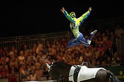 Jasmin Gipperich, (AUT), Polan 2, Claudia Westerheide - Individuals Women Final Vaulting - Alltech FEI World Equestrian Games™ 2014 - Normandy, France.<br /> © Hippo Foto Team - Jon Stroud<br /> 05/09/2014
