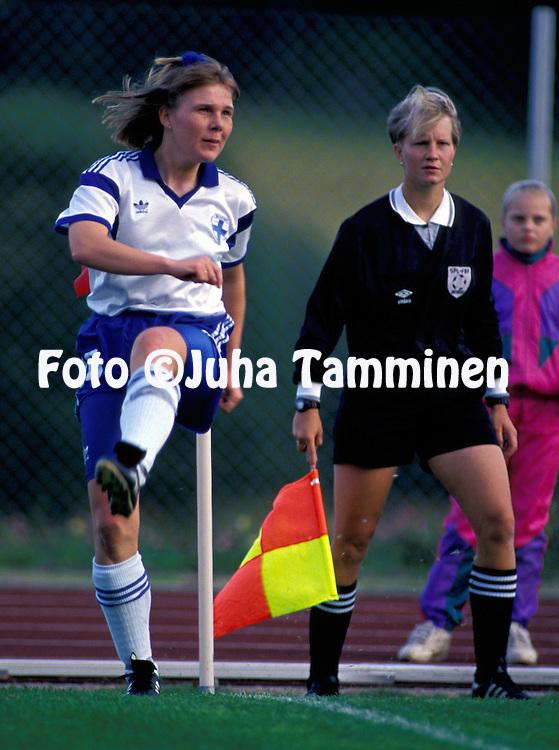 17.08.1993.Sari Holmstr?m - Finland.©JUHA TAMMINEN