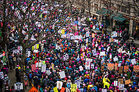 Women's March 2.0, Seattle. January 20, 2018.