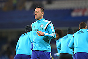 Chelsea's John Terry during the Capital One Cup match between Chelsea and Liverpool at Stamford Bridge, London, England on 27 January 2015. Photo by Phil Duncan.