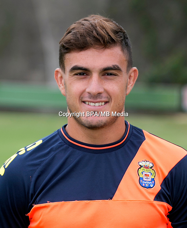 Spain - La Liga Santander 2016-2017 / <br /> ( UD Las Palmas ) - <br /> Felix Asdrubal Padron Hernandez &quot; Asdrubal Padron &quot;