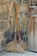 Old brooms, Hongcun, China