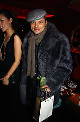 GERRY DE VEAUX at a party hosted by Camilla Al Fayed, Charlotte Stockdale and Patrick Cox in aid of the Evelina Children's Hospital Trust held at th Burlington Club, New Burlington Street, London on 12th December 2006.<br /><br />NON EXCLUSIVE - WORLD RIGHTS