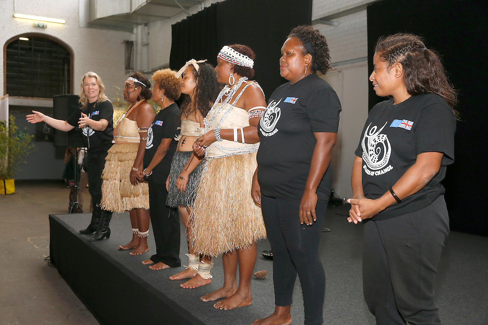03 June 2015 - Belgium - Brussels - European Development Days - EDD - Solomon Islands Performance © European Union