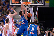 DESCRIZIONE: Torino Turin 2016 FIBA Olympic Qualifying Tournament Finale Final Italia Croazia Italy Croatia<br /> GIOCATORE : Danilo Gallinari<br /> CATEGORIA : controcampo schiacciata sequenza<br /> SQUADRA : Italia Italy<br /> EVENTO : 2016 FIBA Olympic Qualifying Tournament <br /> GARA : 2016 FIBA Olympic Qualifying Tournament Finale Final Italia Croazia Italy Croatia<br /> DATA : 09/07/2016<br /> SPORT: Pallacanestro<br /> AUTORE : Agenzia Ciamillo-Castoria/Max.Ceretti <br /> Galleria : 2016 FIBA Olympic Qualifying Tournament <br /> Fotonotizia : Torino Turin 2016 FIBA Olympic Qualifying Tournament Finale Final Italia Croazia Italy Croatia<br /> Predefinita :