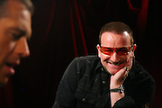 Bono and Brian Williams