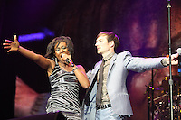 Beverley Knight and Dan Gillespie