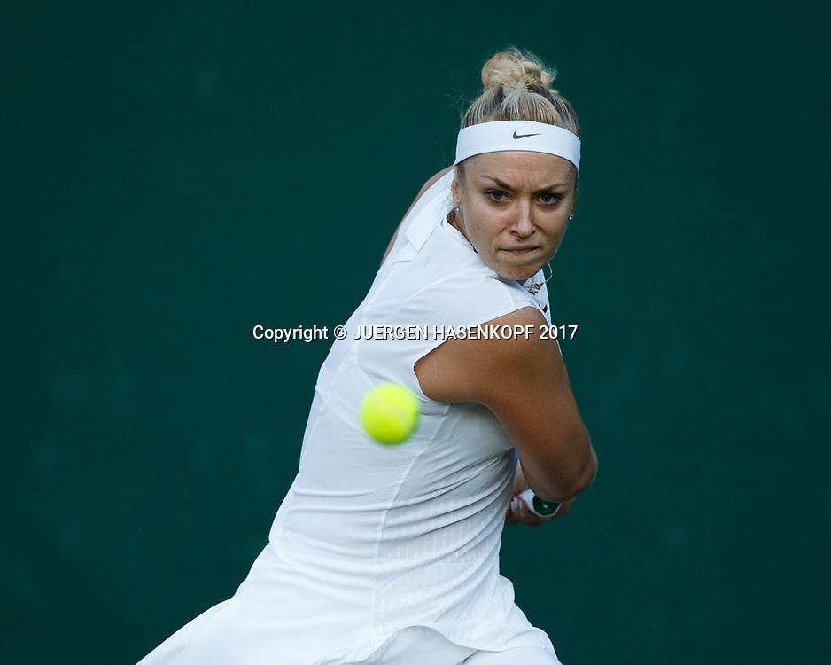 SABINE LISICKI (GER)<br /> <br /> Tennis - Wimbledon 2017 - Grand Slam ITF / ATP / WTA -  AELTC - London -  - Great Britain  - 3 July 2017.
