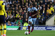 Issa Diop (23) of West Ham United during the EFL Cup match between Oxford United and West Ham United at the Kassam Stadium, Oxford, England on 25 September 2019.