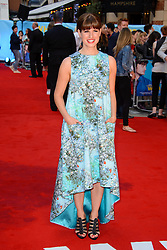 Image ©Licensed to i-Images Picture Agency. 12/08/2014. London, United Kingdom. <br /> Gemima Rooper attends the What If - UK film premiere. Leicester Square. Picture by Chris Joseph / i-Images