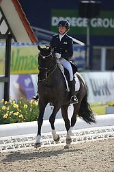 Kramer Catrin, (GER), Dark Dandy 2<br /> Intermediare II - Louisdor-Preis<br /> Horses & Dreams meets Denmark - Hagen 2016<br /> © Hippo Foto - Stefan Lafrentz