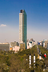 Torre Mayor in Mexico City, Mexico.