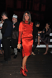 COUNTESS DEBONAIRE VON BISMARCK at a party hosted by Rimmel London to celebrate the 10 year partnership with Kate Moss held at Battersea Power Station, London SW8 on 15th September 2011.
