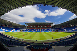 CARDIFF, WALES - Friday, June 5, 2015: Wales take on Wales during a practice match at the Cardiff City Stadium ahead of the UEFA Euro 2016 Qualifying Round Group B match against Belgium. (Pic by David Rawcliffe/Propaganda)