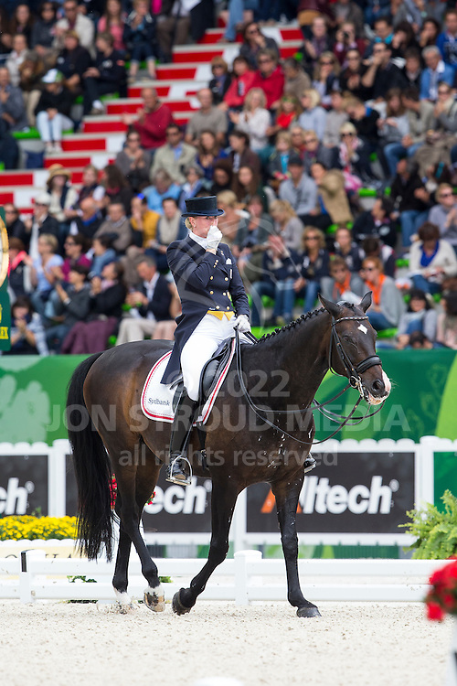 Nathalie Zu Sayn Wittgenstein, (DEN), Digby - Grand Prix Special Dressage - Alltech FEI World Equestrian Games&trade; 2014 - Normandy, France.<br /> &copy; Hippo Foto Team - Leanjo de Koster<br /> 25/06/14