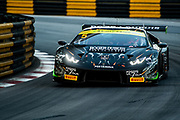 Mirko BORTOLOTTI, FFF Racing Team by ACM, Lamborghini Huracán GT3<br /> 64th Macau Grand Prix. 15-19.11.2017.<br /> SJM Macau GT Cup - FIA GT World Cup<br /> Macau Copyright Free Image for editorial use only