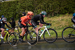 Valerie Demey (BEL) and Martina Alzini (ITA) at ASDA Tour de Yorkshire Women's Race 2019 - Stage 2, a 132 km road race from Bridlington to Scarborough, United Kingdom on May 4, 2019. Photo by Sean Robinson/velofocus.com