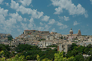 A view of the Baroque city of Ragusa in southeastern Sicily, Italy