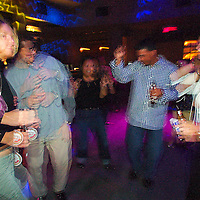 (PFEATURES) Atlantic City 10/23/2003  People dancing on the floor of Club MIXX inside of the Borgata Hotel and Casino.  Michael J. Treola Staff Photographer....MJT