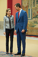 062414 Spanish Royals attends a Welcome to representatives of institutions of social solidarity