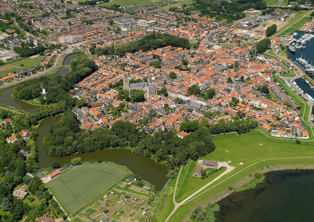 20110627 0115 Historische binnenstad van stad Tholen met zijn stervormig verdedigingswerk