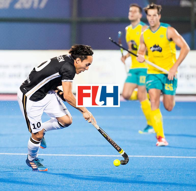 BHUBANESWAR - The Odisha Men's Hockey World League Final . Match ID 05 . Germany  v Australia . Dan Nguyen (Ger) .  WORLDSPORTPICS COPYRIGHT  KOEN SUYK