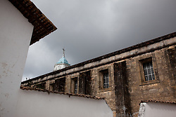 """Church in San Sebastian 1"" - This old church was photographed in the small mountain town of San Sebastian, Mexico."