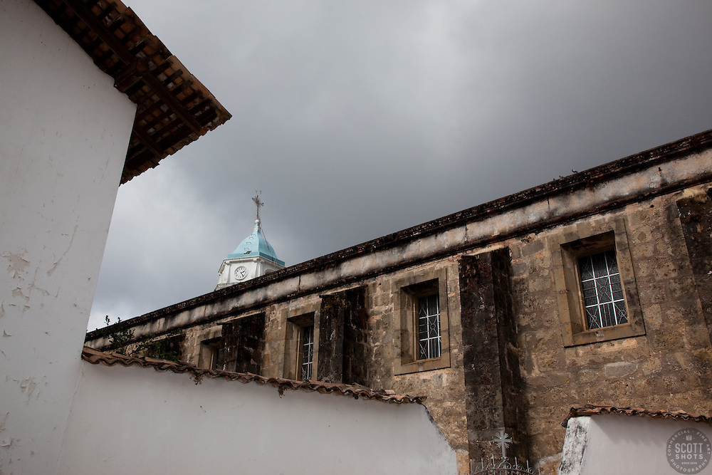 """""""Church in San Sebastian 1"""" - This old church was photographed in the small mountain town of San Sebastian, Mexico."""