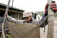A family dedicated to harness racing trains and prepares the horses for upcoming races in Monticello, New York.