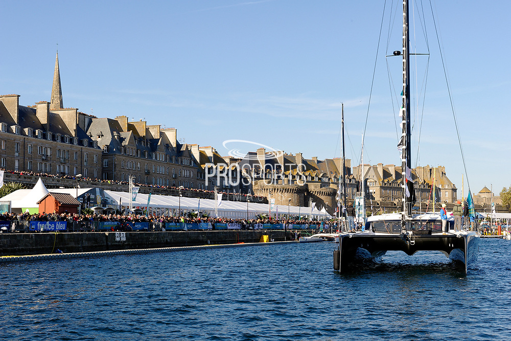 Ambiance during the Route du Rhum 2018, on November 3rd, in Saint Malo, France, before the Route du Rhum sailing race to start on November 4th 2018 - Photo François Van Malleghem / ProSportsImages / DPPI