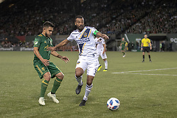 June 15, 2018 - Portland, Oregon, United States - Portland, OR - Friday June 15, 2018: Portland Timbers defeated the Los Angeles Galaxy 1-0 in a 2018 Lamar Hunt U.S. Open Cup round of 16 match at Providence Park. (Credit Image: © Al Sermeno/ISIPhotos via ZUMA Wire)