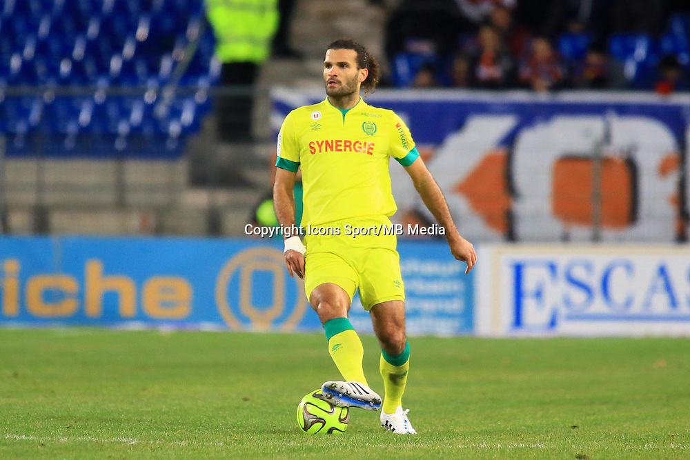 Oswaldo VIZCARRONDO - 24.01.2015 - Montpellier / Nantes  - 22eme journee de Ligue1<br />