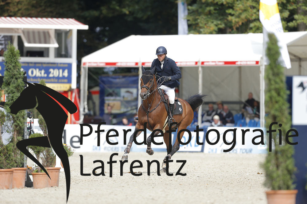 Fredricson, Jens, <br /> Paderborn - Paderborn Challenge 2014<br /> Eröffnungsspringen<br /> © www.sportfotos-lafrentz.de/ Stefan Lafrentz