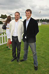 Left to right, JAMIE MORRISON and JACK KIDD at the 25th annual Cartier International Polo held at Guards Polo Club, Great Windsor Park, Berkshire on 26th July 2009.