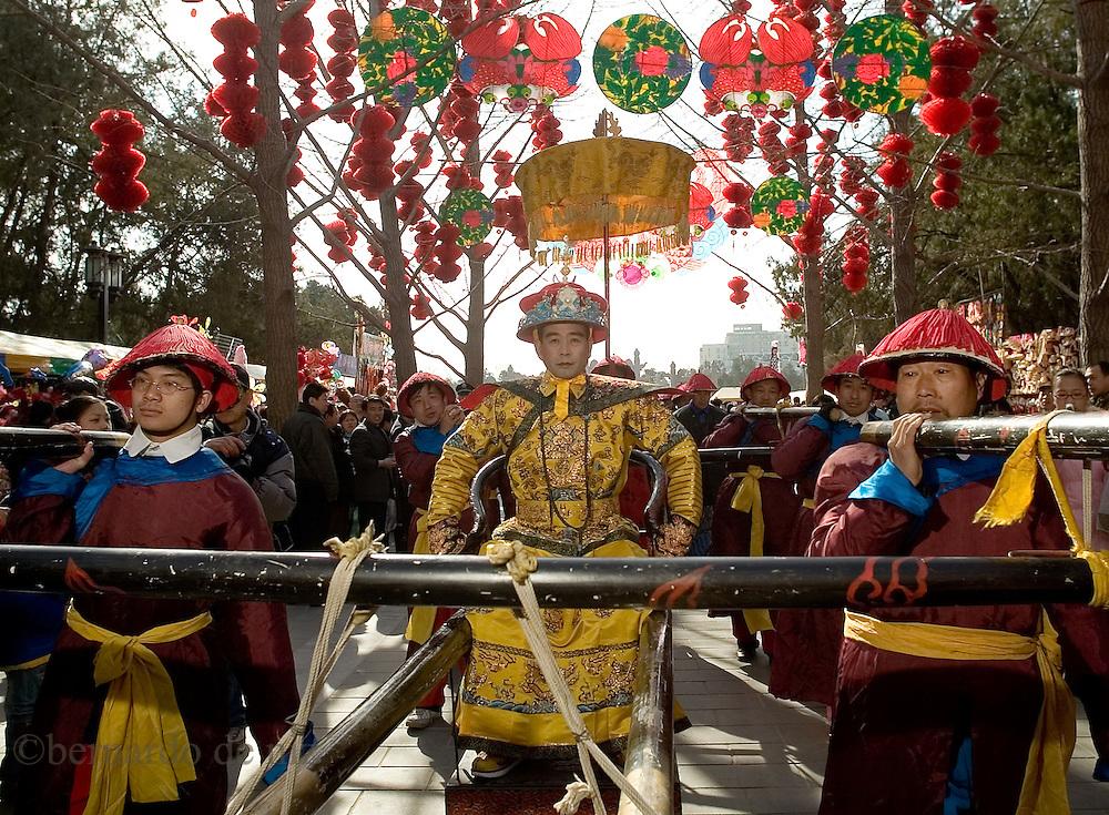 Celebraciones del año nuevo chino en Beijing.  Beijing, China. 2007. Fotos: Bernardo De Niz