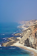Israel, Hertzelia, Cliffs of the Mediterranean sea