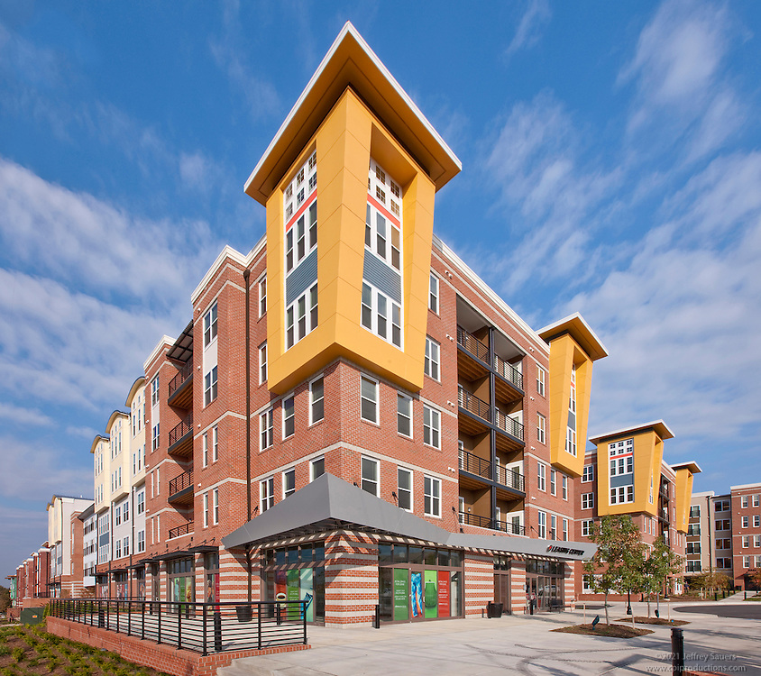Post Apartments: Architecture Image Of Post Park Apartments In Hyattsville