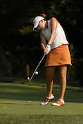 Nicole Schachner in action at the U.S. Women's Amateur at Crooked Stick Golf Club on Aug. 7, 2007 in Carmel, Ind.    ...©2007 Scott A. Miller