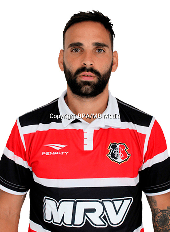 Brazilian Football League Serie B 2017 / <br /> ( Santa Cruz Futebol Clube ) - <br /> Facundo Manuel Carlos Parra