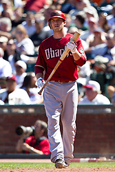 May 30, 2010; San Francisco, CA, USA;  Arizona Diamondbacks shortstop Stephen Drew (6) at bat against the San Francisco Giants during the eighth inning at AT&T Park.  San Francisco defeated Arizona 6-5 in 10 innings.