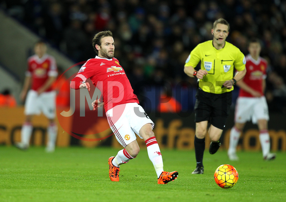 Juan Mata of Manchester United - Mandatory byline: Robbie Stephenson/JMP - 28/11/2015 - Football - King Power Stadium - Leicester, England - Leicester City v Manchester United - Barclays Premier League