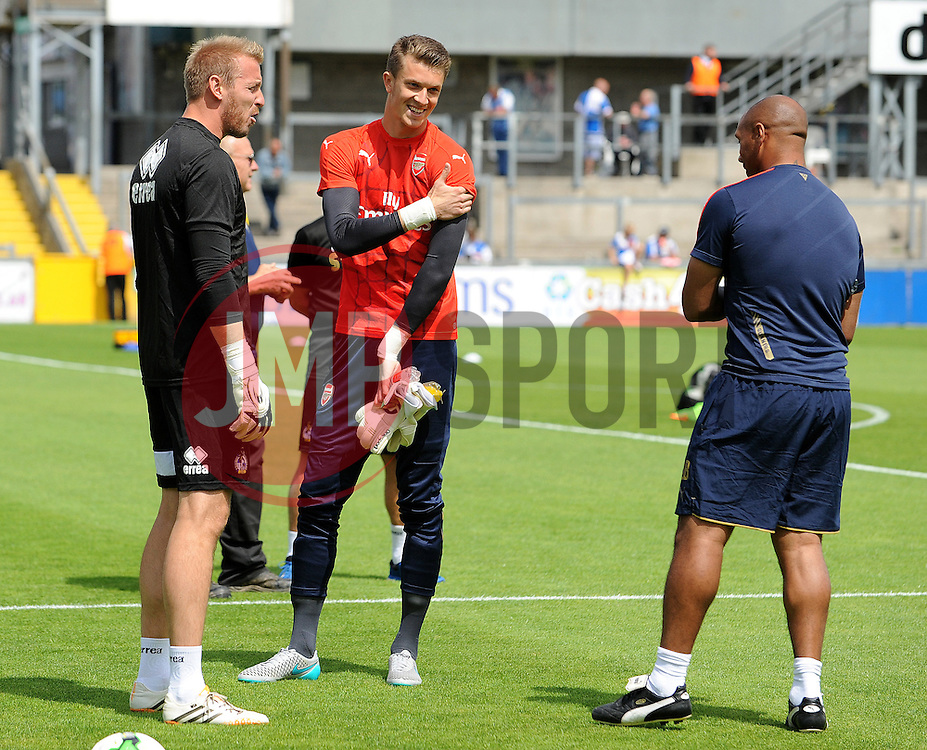 - Photo mandatory by-line: Neil Brookman/JMP - Mobile: 07966 386802 - 18/07/2015 - SPORT - Football - Bristol - Memorial Stadium - Pre-Season Friendly