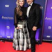 NLD/Scheveningen/20190922- Premiere Musical Anastasia,  Brigitte Nijman en partner Robert Veuger