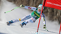 ALPINE SKIING - WORLD CUP 2011/2012 - ASPEN (USA) - 26/11/2011 - PHOTO : ALESSANDRO TROVATI<br />  / PENTAPHOTO / DPPI - WOMEN GIANT SLALOM - Julia Mancuso (Usa) / 3rd