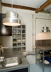 Picture by Mark Larner. Picture shows the kitchen, ground floor, Kompagnistraede 23 back house vaerksted / kontor. 21/03/2012