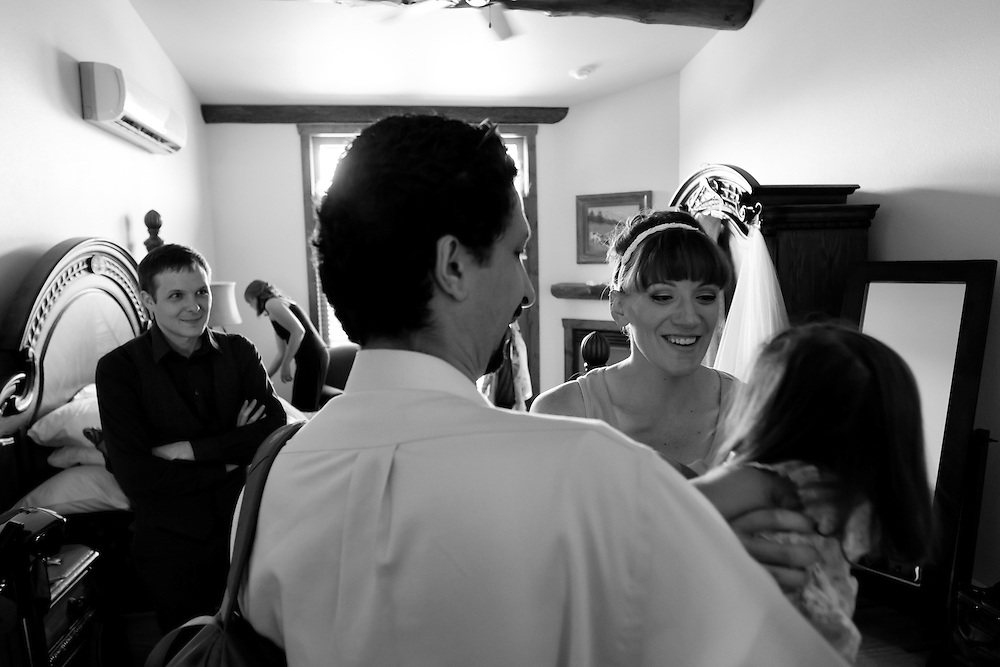 Season Rohlman and Jacob Hurd are married at Taharaa Mountain Lodge in Estes Park, Saturday, Aug. 13, 2011.