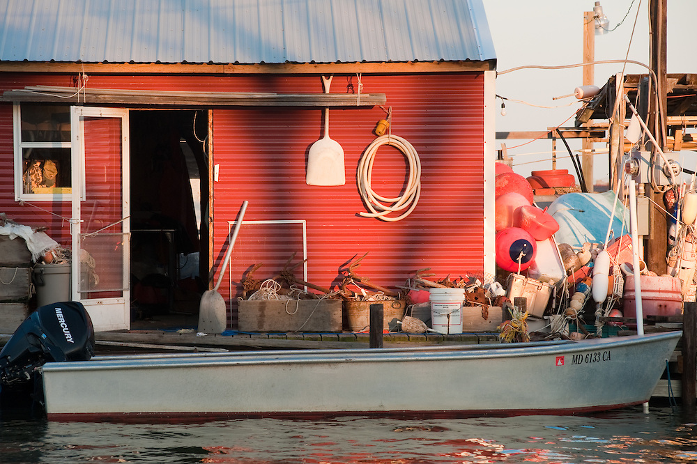 Home on the water with boating equipment