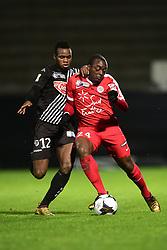 January 10, 2018 - Angers, France, France - COULIBALY Lassana (Angers)  vs Jerome Roussillon  (Credit Image: © Panoramic via ZUMA Press)